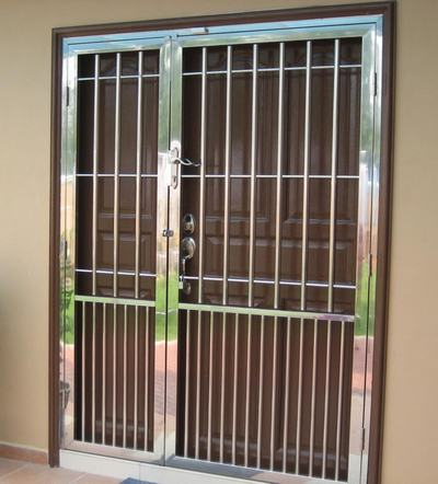 97+ Stainless Steel Main/Front Door Design with Grill for Home